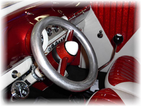 Richie Sambora's steering wheel