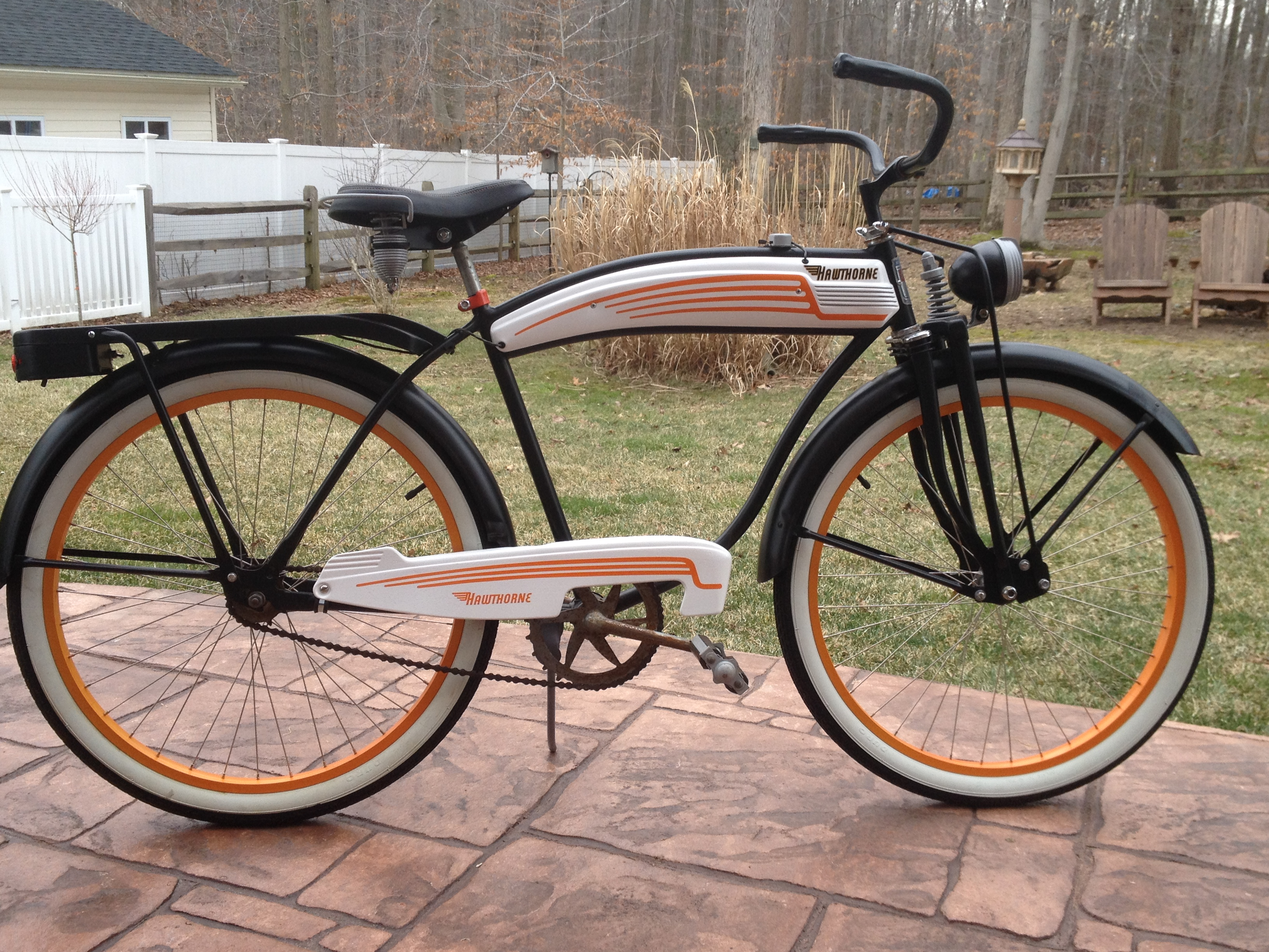 Vintage bicycle restoration