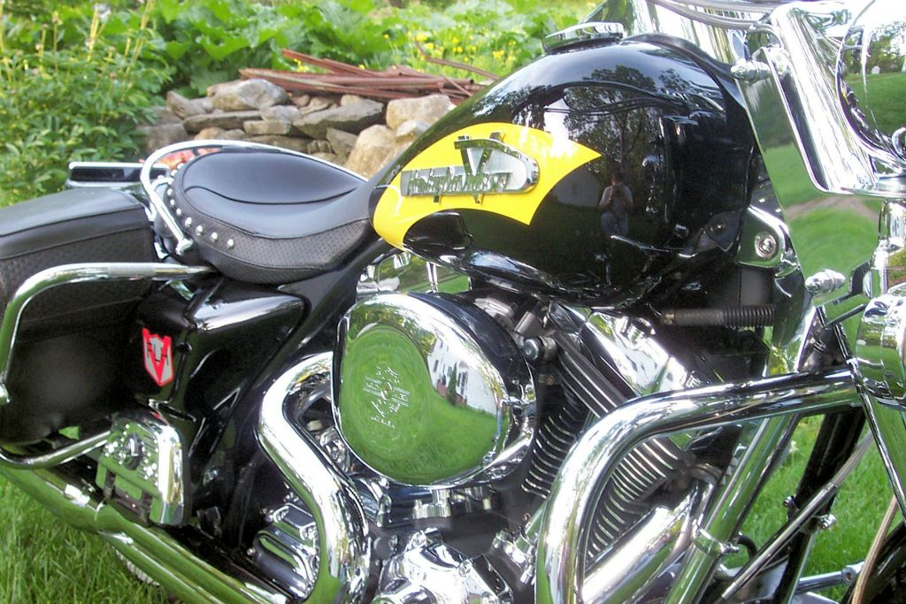 Harley Powder Coated Motorcycle