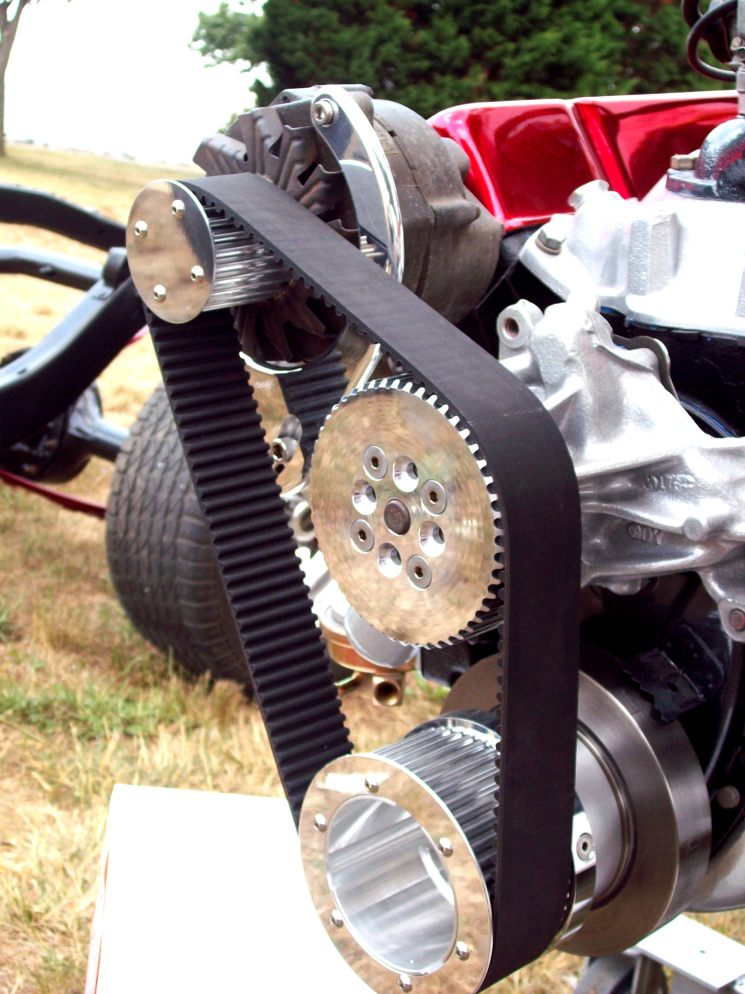 Chevy Cog Belt Systems By Eastcoast Powdercoat North East Md